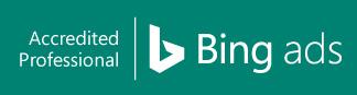 We are Microsoft Bing Ads certified