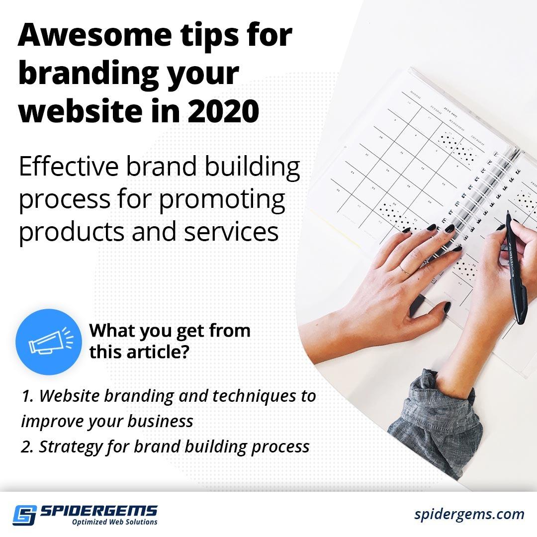 Website branding